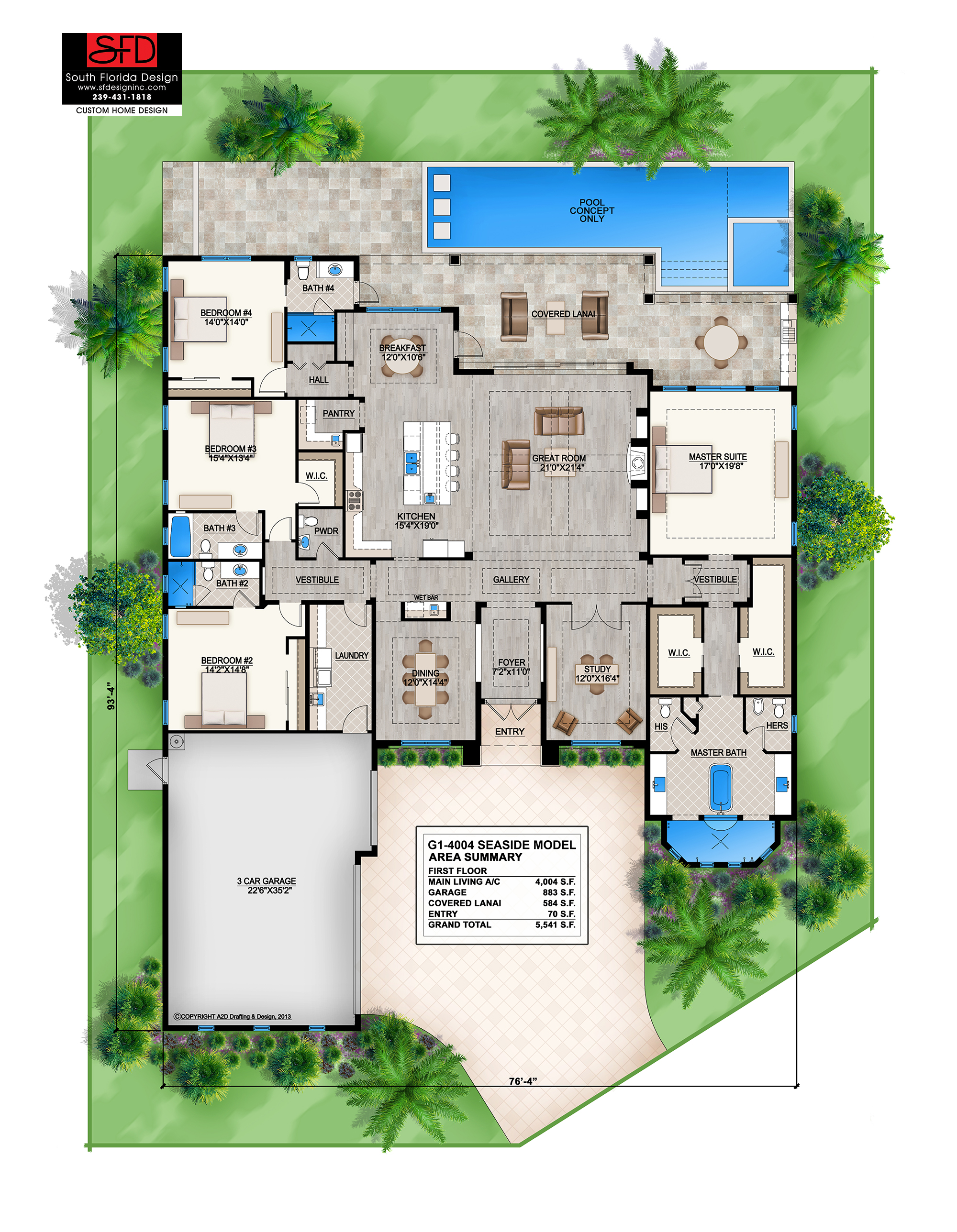 2 story coastal contemporary house plan 239 431 1818 for Modern house floor plans