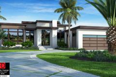 Front Elevation | G1-3083-S Hudson House Plan