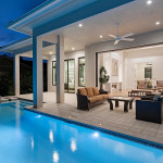Coastal Contemporary House Plan/Lanai and Pool Photo | G1-4004/Seaside | South Florida Design | sfdesigninc.com Seaside (Photo by Naples Kenny Photography)