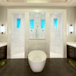 Coastal Contemporary Home Design/Master Bathroom Photo | G1-4084/Anna II | South Florida Design