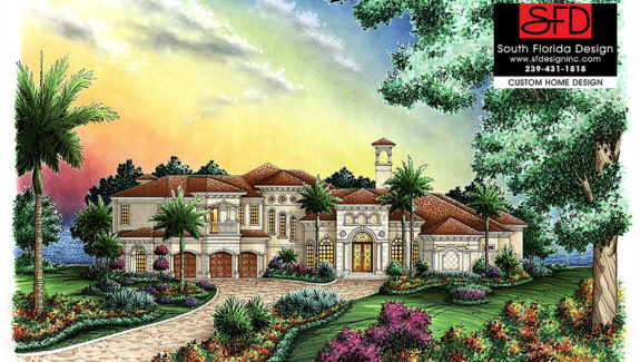 Mediterranean House Plan