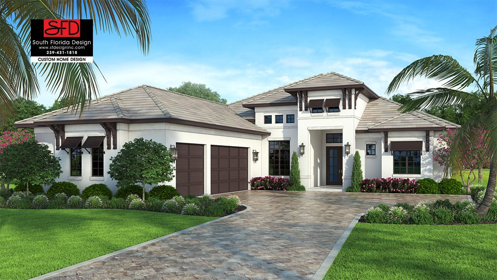 South florida home plans for Florida house designs