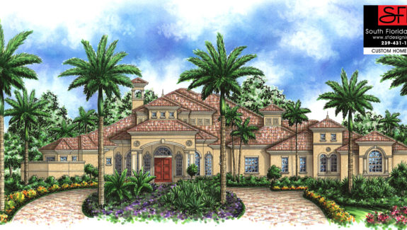 Mediterranean Luxury House Plan