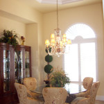 Tuscany Great Room House Plan/Dining Room Photo | G1-3122-G/Verona | South Florida Design