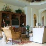 Florida Style Great Room House Plan/Great Room Photo | G1-2692-G/Malta I | South Florida Design